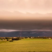 Šalyje prapliupus lietui – įspūdingi dangaus vaizdai <span style=color:red;>(dalijasi skaitytojai)</span>