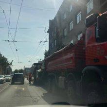 Vairuotojai įspėja: miesto centrą geriau aplenkite!