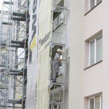 Nekokybiškai namo renovaciją atlikusi bendrovė turės atlyginti 150 tūkst. eurų žalą