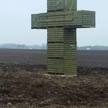 Žemdirbiai pradėjo protesto akciją – šalyje daugėja žalių kryžių