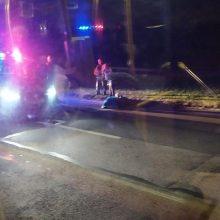 Tragiška nelaimė sostinėje: automobilis mirtinai sužalojo moterį
