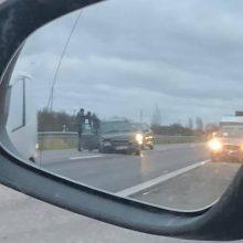 Magistralėje avariją sukėlė visiškai girtas vairuotojas