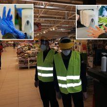 Kaip prekybos centrai apsaugo savo darbuotojus ir klientus?