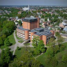 Kauno apskrities viešoji biblioteka išliks raudonos spalvos
