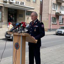 FNTT vadovas: įtariamasis pareigūnas dar nenušalintas
