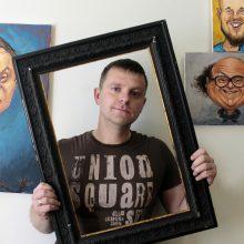 Karikatūrininkas R. Vičys – gimęs su juoko genu