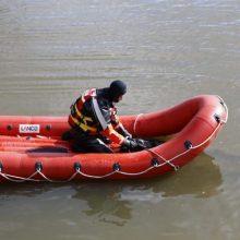 Nelaimė Kretingos rajone: iš valties iškrito ir nebeišniro žmogus (atnaujinta)