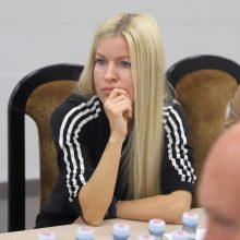 A.Volockytė tvirtina, kad įstaigai pertvarkyti trūksta lėšų.