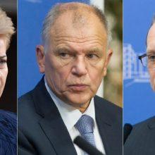 Istorija: iki šiol Lietuva į EK delegavo D.Grybauskaitę, A.Šemetą ir V. P.Andriukaitį.