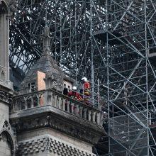 Gaisras Paryžiaus Dievo Motinos katedroje: kas žinoma