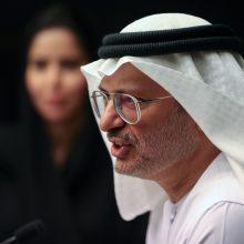 JAE paragino Turkiją nesikišti į arabų reikalus