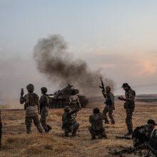 Prezidento patarėja: ginklų embargą verta taikyti tik visoms Sirijos konflikto pusėms