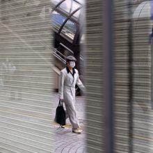Japonijoje paros užsikrėtimų COVID-19 skaičius pirmą kartą nuo sausio perkopė 7 tūkst.