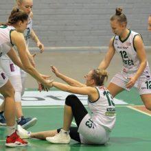 """Baltijos moterų krepšinio čempionate – """"Aisčių-LSMU"""" pergalė"""