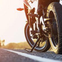 """""""Yamaha"""" vairuotojui teks kurį laiką pamiršti ne tik motociklą"""