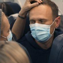 Žiniasklaida: A. Navalno žmona atvyko į Vokietiją