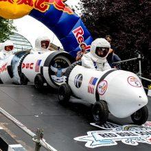 """Paskelbta """"Red Bull muilinių lenktynių"""" programa"""