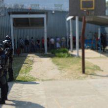 Kybartų pataisos namuose neramumai: nuteistieji priešinosi pareigūnams