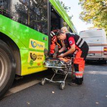Kauno viešojo transporto stotelėse – nauja nelaimių griūtis