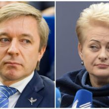 R. Karbauskio ir D. Grybauskaitės karas: kuris užlips ant politinės minos?