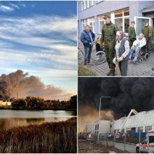 Į Vyriausybę plūsta pirmieji alytiškių prašymai kompensuoti gaisro padarytą žalą