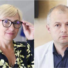 VTEK nutraukė tyrimus dėl ministrų J. Šiugždinienės ir S. Gentvilo elgesio