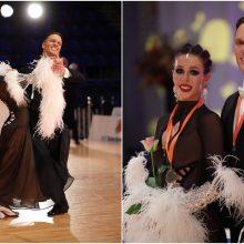 Įspūdingas Lietuvos šokėjų debiutas tarp profesionalų – iš karto aukso medalis