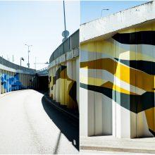 """""""Megoje"""" atgyja gatvės menas"""