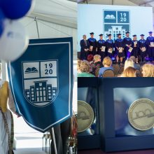 Kauno technikos kolegija įteikė diplomus šimtmečio absolventams