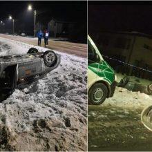 """Avarijos Aleksote atgarsiai: girtam vairuotojui – tūkstantinė bauda """"CityBee"""" ir baudžiamoji byla"""