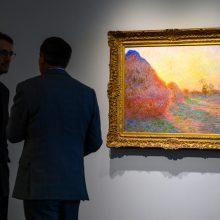 Claude'o Monet paveikslas aukcione parduotas už 110,7 mln. dolerių