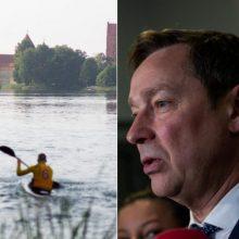 Trakų nacionalinio parko vadovas nežada nusileisti A. Zuokui dėl jachtklubo