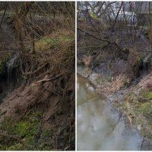 Sunerimo: į Jiesios upę nuolat bėga dvokiantis ir purvinas vanduo