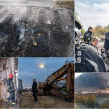 Nuostoliai nukentėjusiems nuo gaisro Alytuje bus kompensuoti, tik dar neaišku kaip