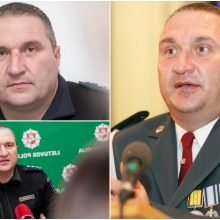 Kauno policijos vadovas D. Žukauskas nušalinamas nuo pareigų