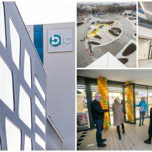 Vienybės aikštėje baigtos BLC 2 verslo centro statybos