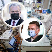G. Nausėda: jei A. Dulkys nemato galimybių suvaldyti pandemijos, gali pasitraukti
