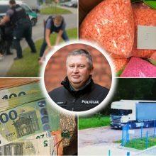 Kauno sekliai įvertinti už užsienyje atskleistus nusikaltimus