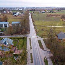 Sutvarkius centrines Kauno gatves darbai keliasi miesto ribų link