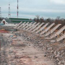 Kauno stadiono rekonstrukcija įsibėgėja: užbaigtas svarbus etapas