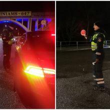 Kauno policija: gal vairuotojai jau baigė švęsti
