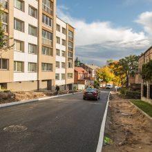 Geros žinios vairuotojams: Žemaičių gatvėje atnaujinamas eismas