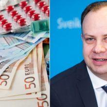 A. Veryga neigia, kad norima riboti paciento gydymo kainą iki 30 tūkst. eurų