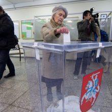 Lietuva renka, kas pateks į Seimą: rinkėjų aktyvumas (nuolat pildoma)