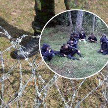 Į Lietuvą iš Baltarusijos neteisėtai patekusių migrantų skaičius šiemet viršijo 400