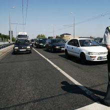 Jonavos rajone 70 km/val. greitį viršijusiam vairuotojui – rimti nemalonumai