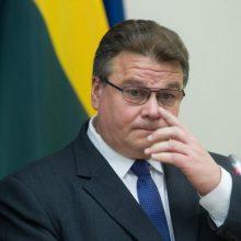 L. Linkevičius su kolegomis Briuselyje aptars kovą su dezinformacija