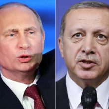 V. Putinas ir R. T. Erdoganas surengs derybas dėl Sirijos