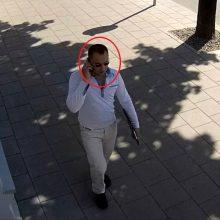 Ieškomas šis vyras, gal atpažįstate?
