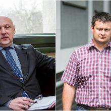 Valdininkų karjera: vienas – į ministeriją, kitas į gatvę